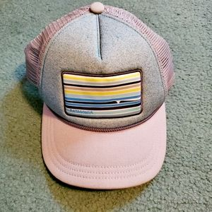 Patagonia mesh snapback hat
